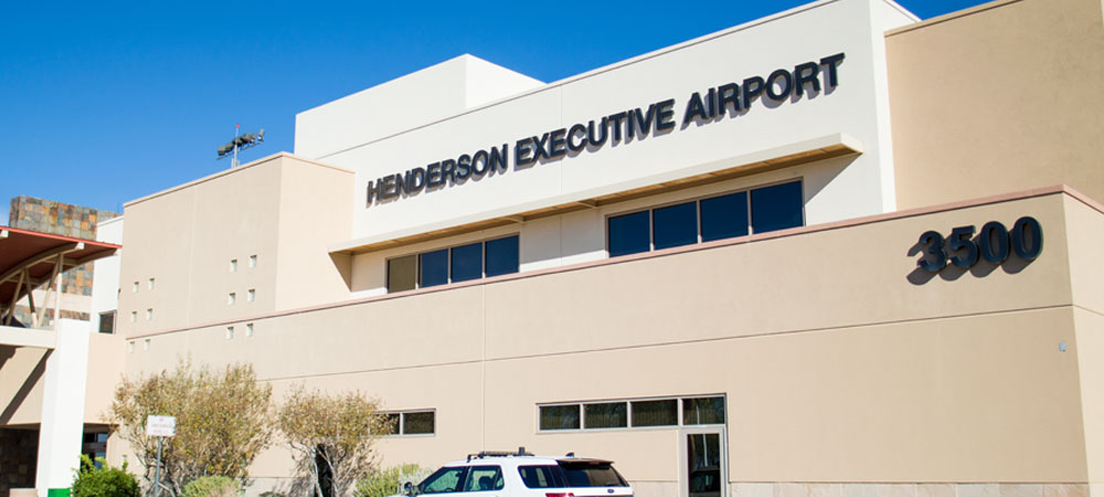 Henderson Executive Airport front entrance